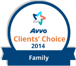 Avvo Clients Choice logo for dedicated family law lawyer Grand Rapids