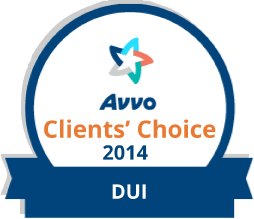AVO clients choice logo for Dedicated DUI attorneys Grand Rapids