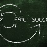 Try fail succeed circle on chalkboard from Grandville bankruptcy lawyer
