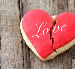 Cracked cookie as a concept of broken heart and breakup and if you need a skilled separation attorney find one in Middleville.