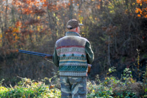 Man in hunting gear, if facing hunting permit violation from DNR consult with defense attorney in Hastings.