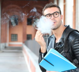 college student smoking on campus and getting caught for drug possession, for the best Michigan criminal defense lawyer contact our office.