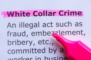 Definition for white collar crime highlighted, call our reliable White Collar Crime Defense Attorneys Michigan.