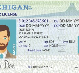 A sample of drivers license, if you have had your license suspended and need help getting it restored speak to Grand Rapids OWI Lawyer.